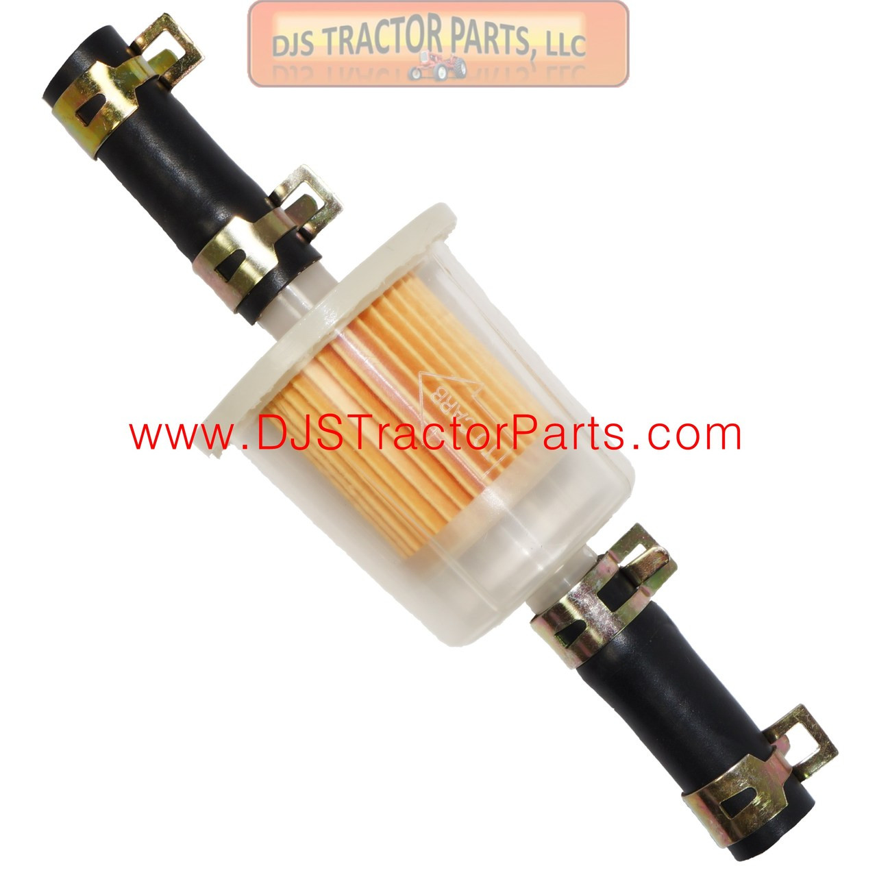WIX Brand IN-LINE FUEL FILTER - AB-490D - DJS Tractor Parts LLC   Wix 3 8 Line Fuel Filter      DJS Tractor Parts