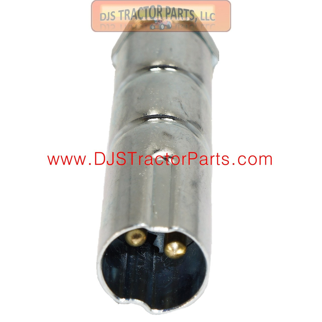 Auxiliary Male 2 Pin Connector Plug - AB-1868D