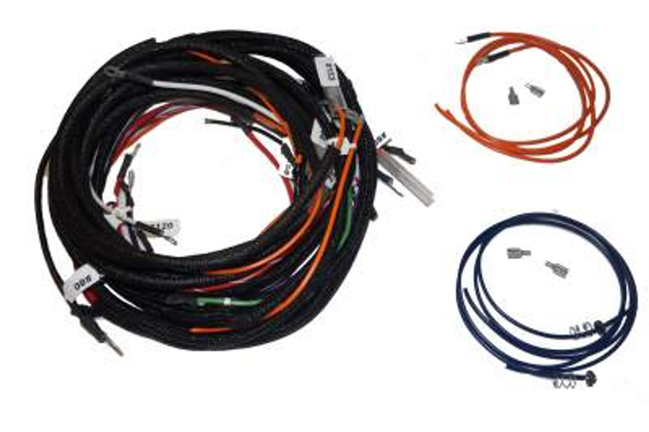 allis chalmers wd wiring harness wiring harness kit  tractors with one wire alternator  allis  wiring harness kit  tractors with one