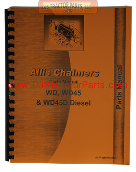 Allis Chalmers WD WD45 Parts Manual