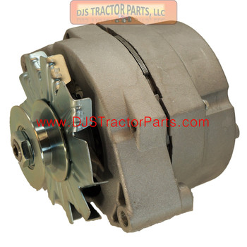 63 Amp One Wire Alternator with Pulley - Used for converting 6 volt to 12 volt - AB-418D