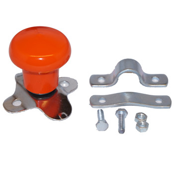 ORANGE STEERING WHEEL SPINNER WSV125OR