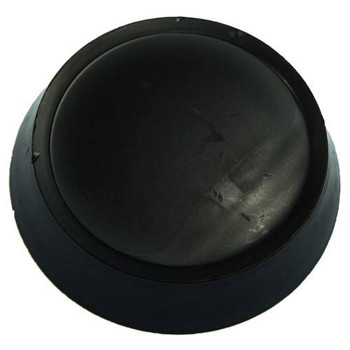 Allis Chalmers Center Steering Wheel Cap - Black - 71362581
