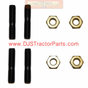 Allis Chalmers G Manifold Stud Set with Brass Nuts - G001