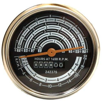 Early Allis Chalmers D15 Gas Tachometer / Tach Operation Meter - 70242375