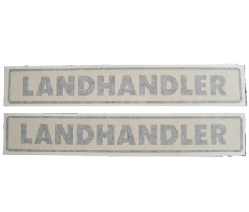 Allis Chalmers Landhandler Vinyl Decals  Set of 2