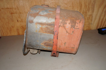 USED GAS TANK - POWER UNIT WITH MOUNTUNG BRACKET (262)