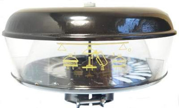 """Pre Cleaner Assembly (Includes 10 1/2"""" Bowl) Metal Base And Lid"""