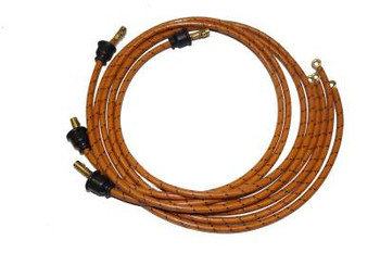 "TAILORED SPARK PLUG WIRE SET FOR ALLIS CHALMERS ""A"" TRACTOR DJS1019"