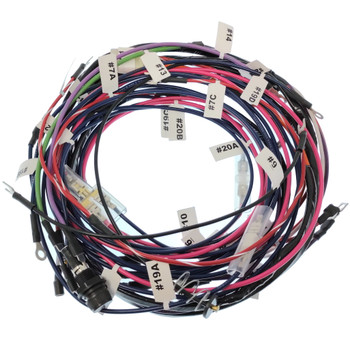 Allis Chalmers D17 Gas Series IV Complete Wiring Harness Modified For 10SI Alternator
