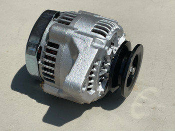 """1 Wire Mini Alternator with 3/8"""" Pulley 40 Amp"""