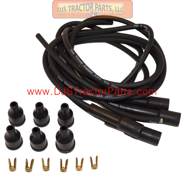 Spark Plug Wiring Set w/ Straight Boots