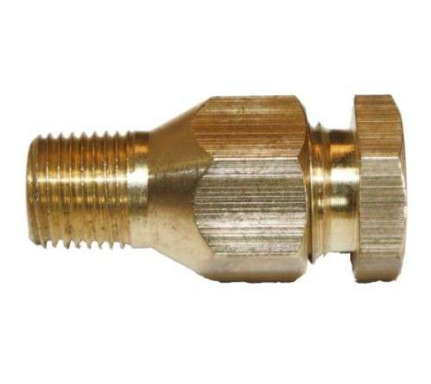 """Fuel Line Compression Fitting 5/16"""" Line to 1/8"""" Pipe"""