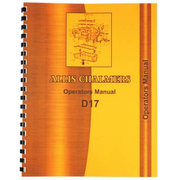allis chalmers d17 operators manual