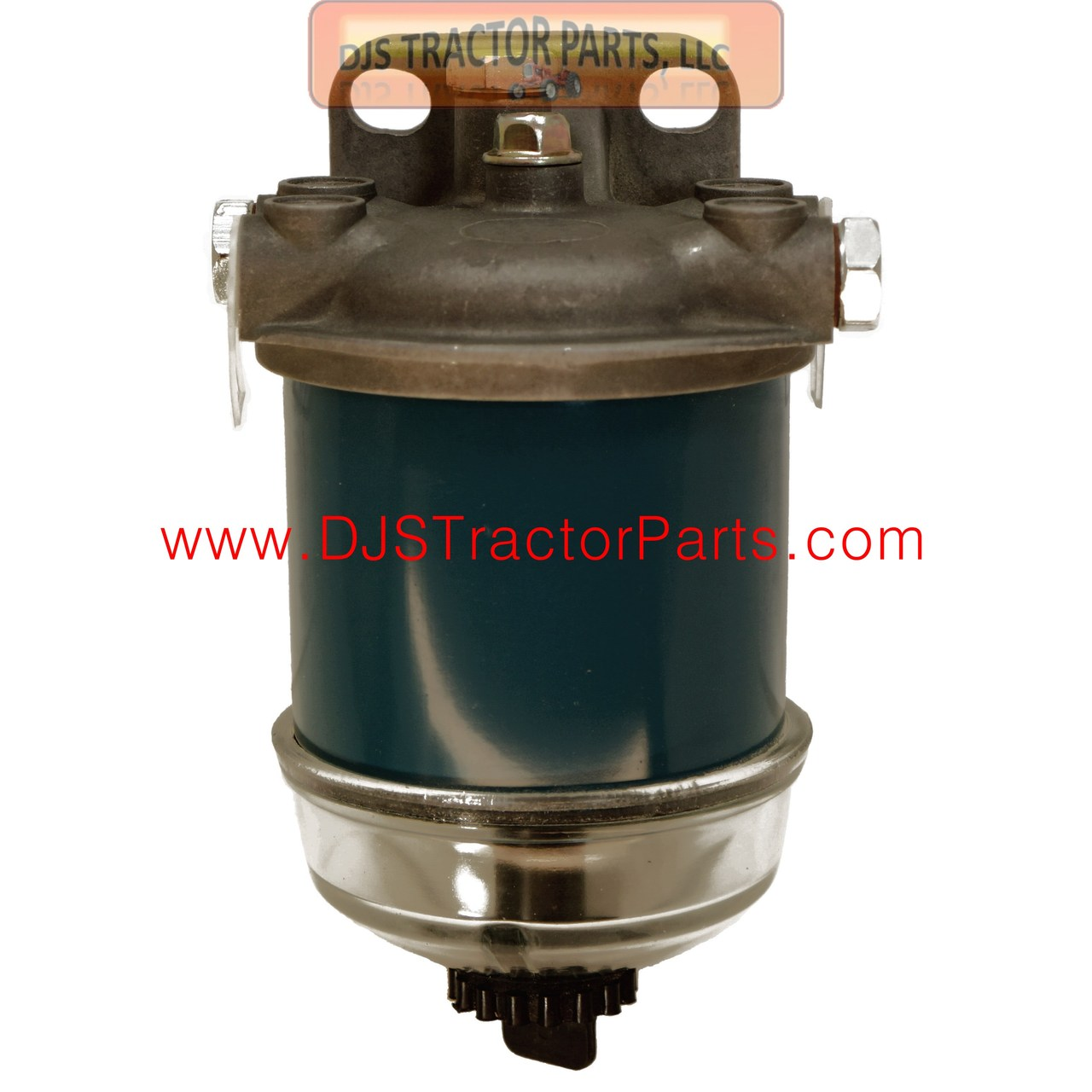 Diesel Single Fuel Filter Assembly with Glass Bowl - AB-1423D - DJS Tractor  Parts LLCDJS Tractor Parts LLC