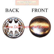 """7//16/"""" Snap-In Hole Plug /""""Nickel Plated/"""" 9563K84"""