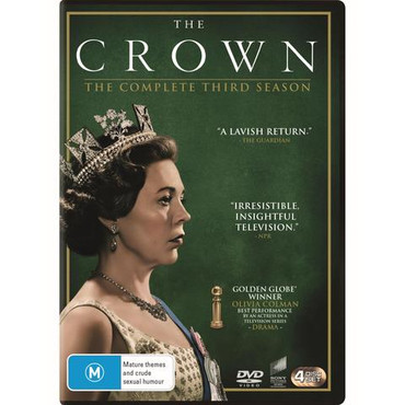 The Crown Season Three DVD