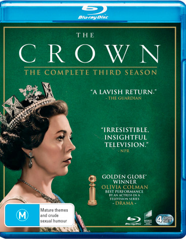 The Crown Season Three Blu-Ray