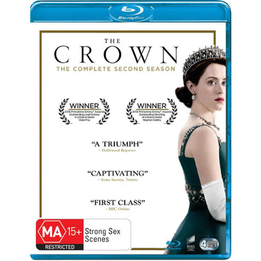 The Crown Series Two Blu-Ray