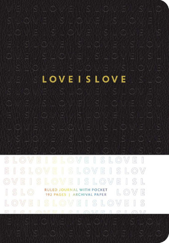 Love is Love (Hardcover Ruled Journal)
