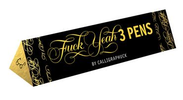 Fuck Yeah: Three Pens