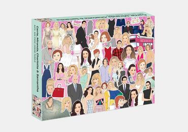 Carrie, Miranda, Charlotte & Samantha (SATC: 500-Piece Jigsaw Puzzle)