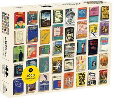 Classic Paperbacks 1,000 Piece Jigsaw Puzzle (Princeton Architectural Press)
