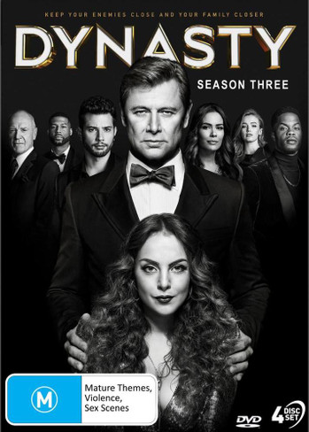 Dynasty (Reboot) Season Three DVD