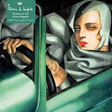 Tamara de Lempicka 1000 Piece Jigsaw Puzzle : Tamara in the Green Bugatti