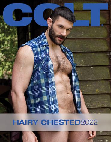 Colt Hairy Chested Men Calendar 2022