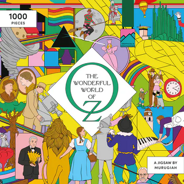 The Wonderful World of Oz: A Movie Jigsaw Puzzle