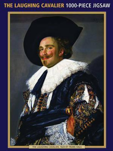 Frans Hals: The Laughing Cavalier Jigsaw Puzzle (1000 piece)