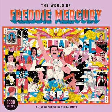 The World of Freddie Mercury: A Jigsaw Puzzle