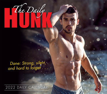 The Daily Hunk - Boxed/Daily Calendar 2022