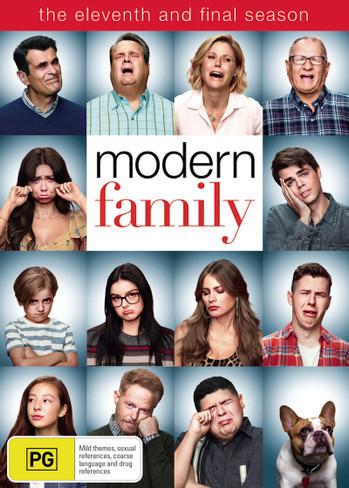 Modern Family (Final) Season 11 DVD