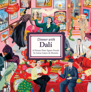 Dinner with Dali: A 1000-Piece Dinner Date Jigsaw Puzzle