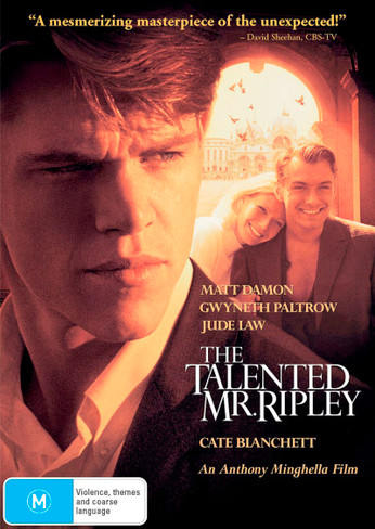 The Talented Mr Ripley DVD