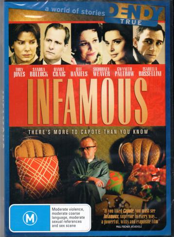 Infamous DVD