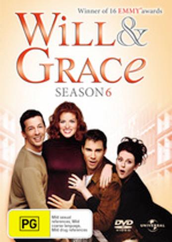 Will & Grace (Season 6) DVD