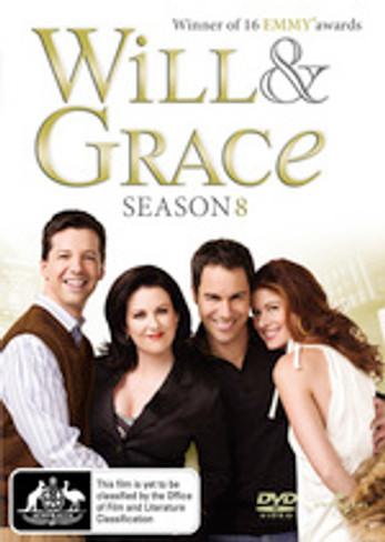 Will & Grace (Season 8) DVD