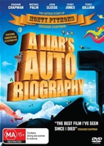 A Liar's Autobiography DVD : The Untrue Story of Monthy Pythons Graham Chapman
