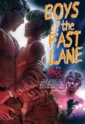 Boys of the Fast Lane (Zack's Boys Series Book 4) (Erotic Novel with Illustrations)