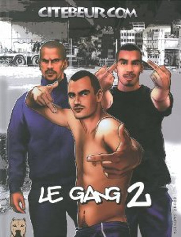 Le Gang is Back (Erotic Comic Book)