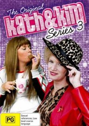 Kath & Kim (Series 3) DVD