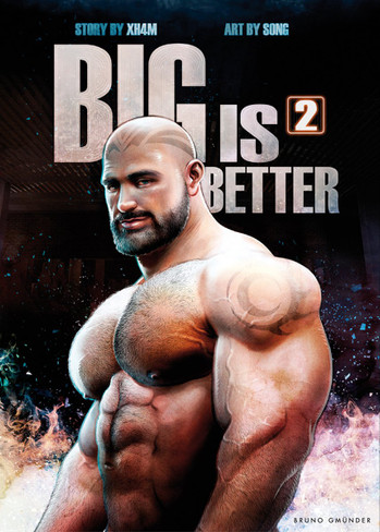Big is Better 2 (Erotic Comic Book)