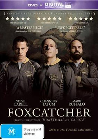 Foxcatcher DVD (+ Ultraviolet)