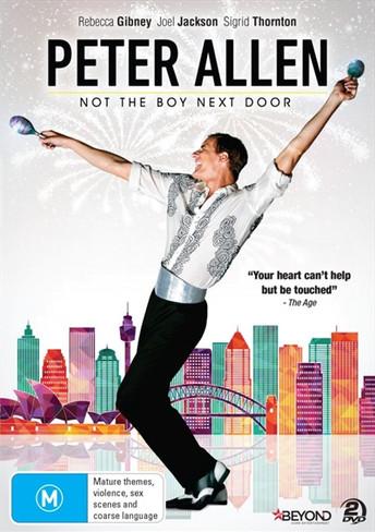Peter Allen - Not The Boy Next Door DVD