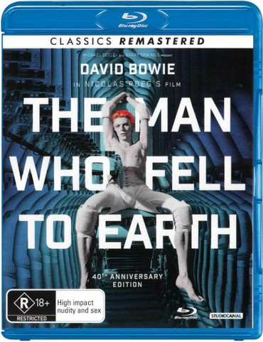 The Man Who Fell To Earth Blu-Ray