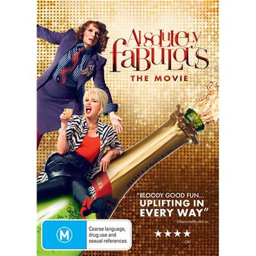 Absolutely Fabulous : The Movie DVD