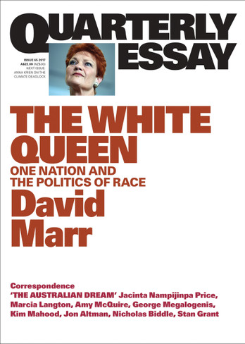 David Marr on The White Queen: Quarterly Essay 65